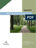 Winnipeg Parks Report 2015