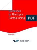 Guidelines to Pharmacy Compounding Oct2006 2