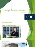 P1 - Arquitetos 1