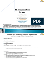 XPS Report Template for Survey and Chemical State Spectra