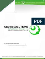 Ppto. - Diseño y Desarrollo de Pagina Web - 3 Opciones
