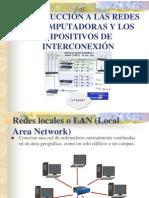 Introducción a las redes y dispositivos de interconexión