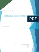 Introducción a La Microeconomía I