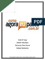 PDF AEP OAB2aFase DireitoTributario TecnicasParaProva RafaelSaldanha