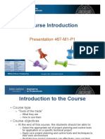 467 M1 P1 (Course Introduction)