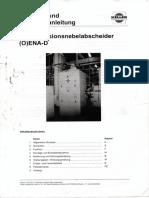 Manual Del Separador de Niebla de Emulsion Aleman