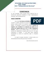 CONSTANCIA Proyecto de Investigacion