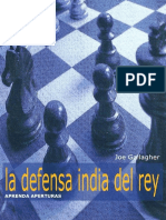 Joe Gallagher - Aprenda Aperturas - La Defensa India Del Rey