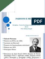 Aula Parsons e Merton