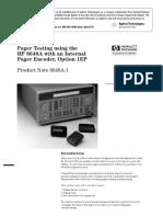 5965-1131E Paging Test Unit