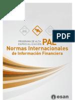 PAE Normas Internacionales de Información Financiera