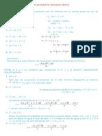 Ecuaciones 2c2ba Grado