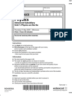 June 2009 QP - Unit 1 Edexcel Physics a-level