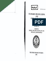Irc 83 Part III 2002 Standard Specifications Code of Practice for Road Bridges