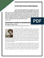 Felipe de Ortego y Gasca - HAMLET THE MYSTERY OF MEMORY IN SHAKESPEARE'S HAMLET.pdf