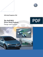 SSP-Nr 516 the Golf 2013 Driver Assist Systems