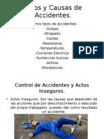 Tipos y Causas de Accidentes