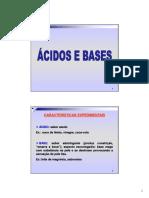 AULA 5 - Ácidos e Bases