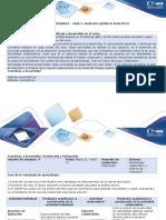 Guía de Actividades - Fase 3. Analisis Químico Analitico