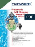 Filtaworx FW100 Water Filters Brochure
