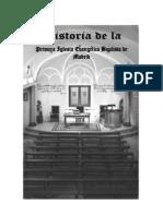 Historia Primera Iglesia Evangélica Bautista de Madrid