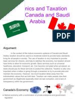 economics and taxation project- canada and saudi arabia