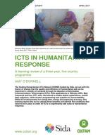 ICTs in Humanitarian Response