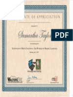 tmt certificate