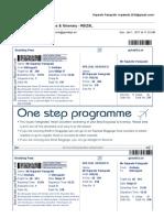 IndiGo Boarding Pass & Itinerary - R5IZ9L