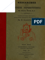 Researches Into Chinese Superstitions (Vol 2) - Henry Dore