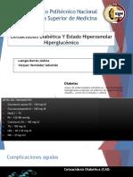 Cetoacidosis Diabetica y Estado Hiperosmolar
