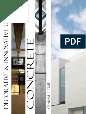 Decorative and Innovative use of Concrete - facebook - ARQ