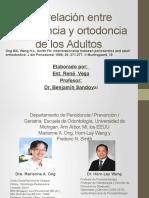 Interrelación Entre Periodoncia y Ortodoncia de Adultos