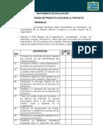Instrumento de Evaluacion Producto Asociado a Proyecto
