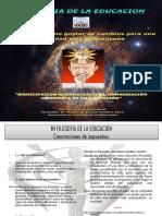 Cartel-Afiche / filosofia de la educación
