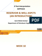 10 - Well Test - Reservoir & Well Aspects