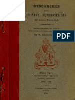Researches Into Chinese Superstitions (Vol 3) - Henry Dore
