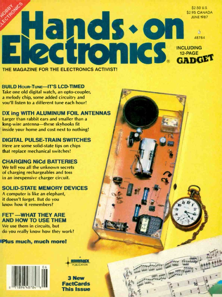 Hands On 1987 06 Battery Charger Random Access Memory Alkaline Schematic Experimenter39s Corner Issue