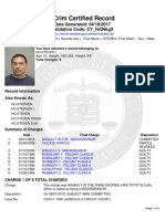 Criminal record of Steven Ho