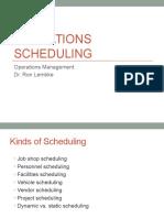 16 Scheduling