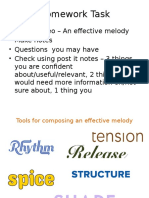 Composing an Effective Melody