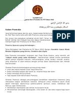 SAMBUTAN HARI PRAMUKA 2016.doc