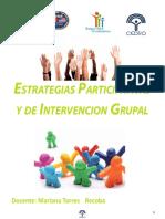 Estrategias Participativas de Intervención Grupal