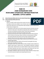 003. Bab 3 Arahan Kebijakan Dan Rencana Strategis Infrastruktur Bidang Cipta Karya