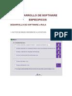 Desarrollo de Sofware Especifico