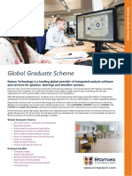 Romax Global Graduate Scheme Flyer