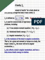 RB F=ma Moments of Inertia 1