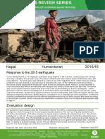 Humanitarian Quality Assurance – Nepal