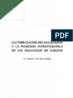 1958 Thomas Van Der Hammen Las Terrazas Del Rio Magdalena y La Posicion Estratigrafica de Los Hallzgos de Garzon