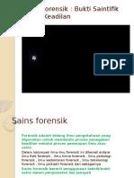Sains forensik